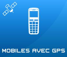 Mobiles Senior avec GPS pour géolocalisation