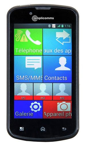 amplicomms smartphone senior